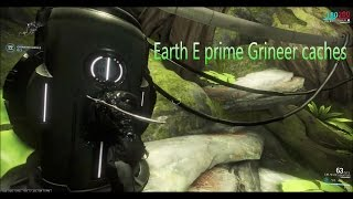 Warframe Gameplay Earth E prime Grineer Caches Mission
