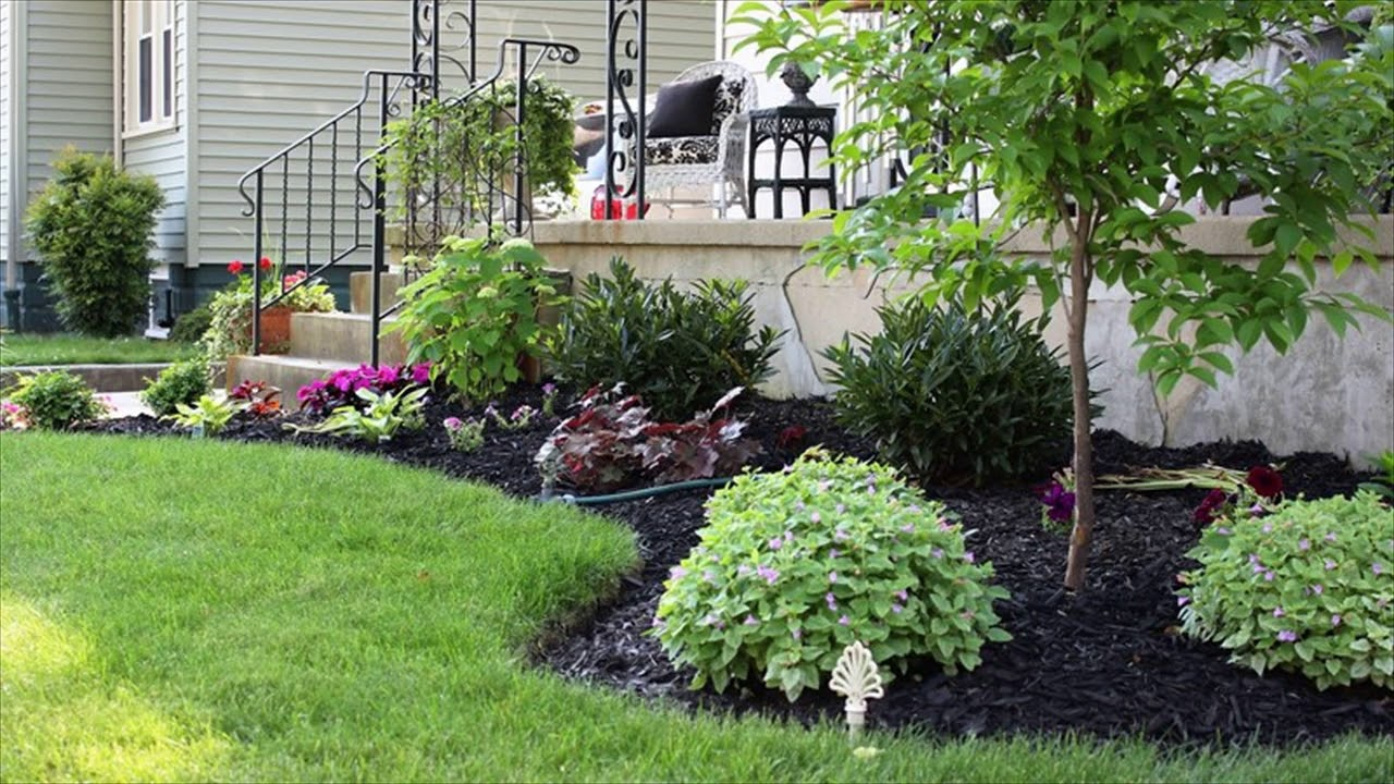 Garden Bed Ideas For Front Of House