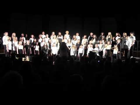 Westwood Regional Middle School 6th Grade Choir- January 2018