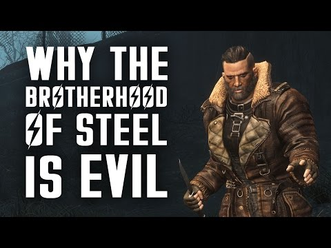 Why the Brotherhood of Steel is Evil - Fallout 4 Lore