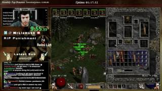Diablo 2 - 8 Man HC Bowazon Speedrun