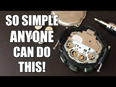 How To Replace The Battery Of A Casio Pro-Trek Or G-Shock Watch (feat. PRG-40) - Perth WAtch #228