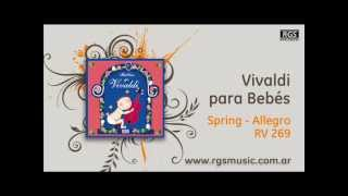 Vivaldi para Bebés - Spring - Allegro RV 269