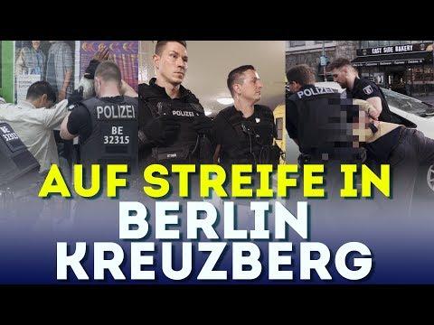 Auf Streife in Kreuzberg -  POLIZEI BERLIN