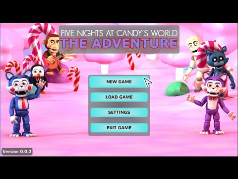 BEST FNAF WORLD FAN-GAME BY FAR!!! | Five Nights At Candy's World - The Adventure Demo Part 1