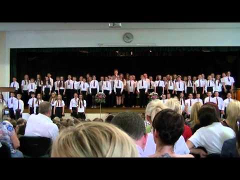 Ysgol Gymraeg Dewi Sant Y Rhyl - year 6 leaving ceremony 5th July 2012 part 2 (can tepot piws)