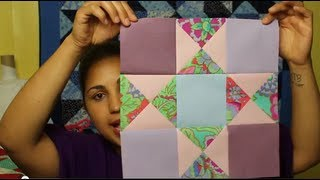 How To Make An Ohio Star Block- Block#11 Of 12- Video Quilt Along
