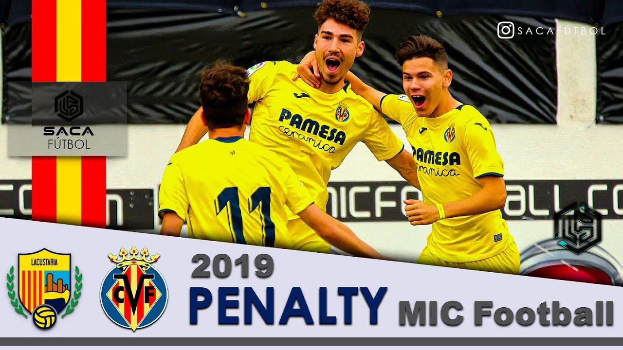 Penalty UE Llagostera vs Villarreal CF MIC Football U19 2019