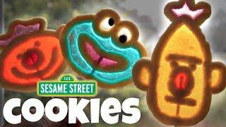 SESAME STREET Lollipop Cookies (ft. my son