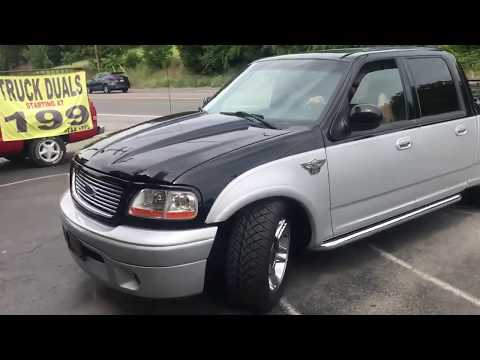 """2003 Ford F-150 Harley Davidson Edition Supercharged! w/ 18"""" MagnaFlow"""