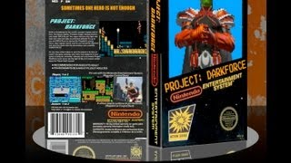 Faux Classic NES 8-Bit Chip Tunes & Cutscenes From the 80's: Project Darkforce