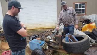 Homemade tire splitter!