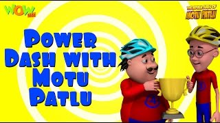 Power Dash - Motu Patlu Compilation - 3D Animation Cartoon for Kids -As seen on Nickelodeon