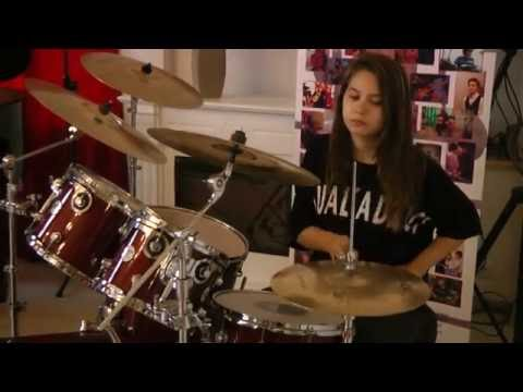 Deep Purple- Smoke on the water (drum cover)by Diana Stoica