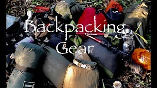 Gear for Backpacking Trips.  What I take on multi-day spring/summer/autumn hiking trips.
