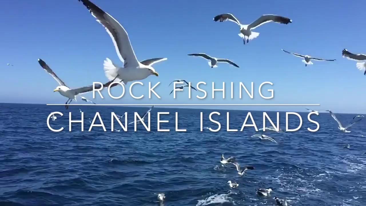 Channel islands rock fishing youtube for Channel islands fishing