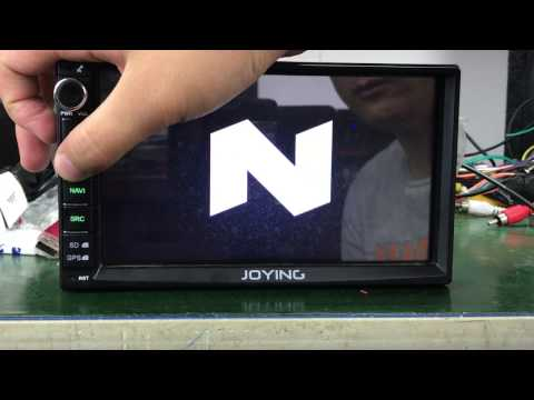 Joying testing Android 7.1.1 Nougat car head unit radio stereo