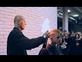 Cutting Hair With Fire | Sasha Menshikov Hair Artis | St.Petersburg, Russia | European Hairdressers