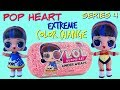 LOL Surprise Unboxing POP HEART and Fashion Crush Slime