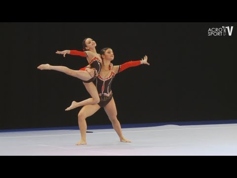 Ramazanova, Huseynova - Azerbaijan - Women's Pair - Combined - Sachsenpokal Riesa 2012