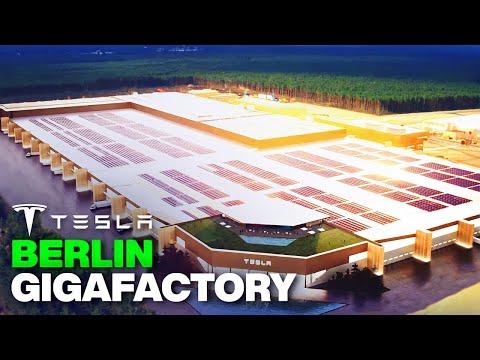 Inside Tesla's New Berlin Gigafactory