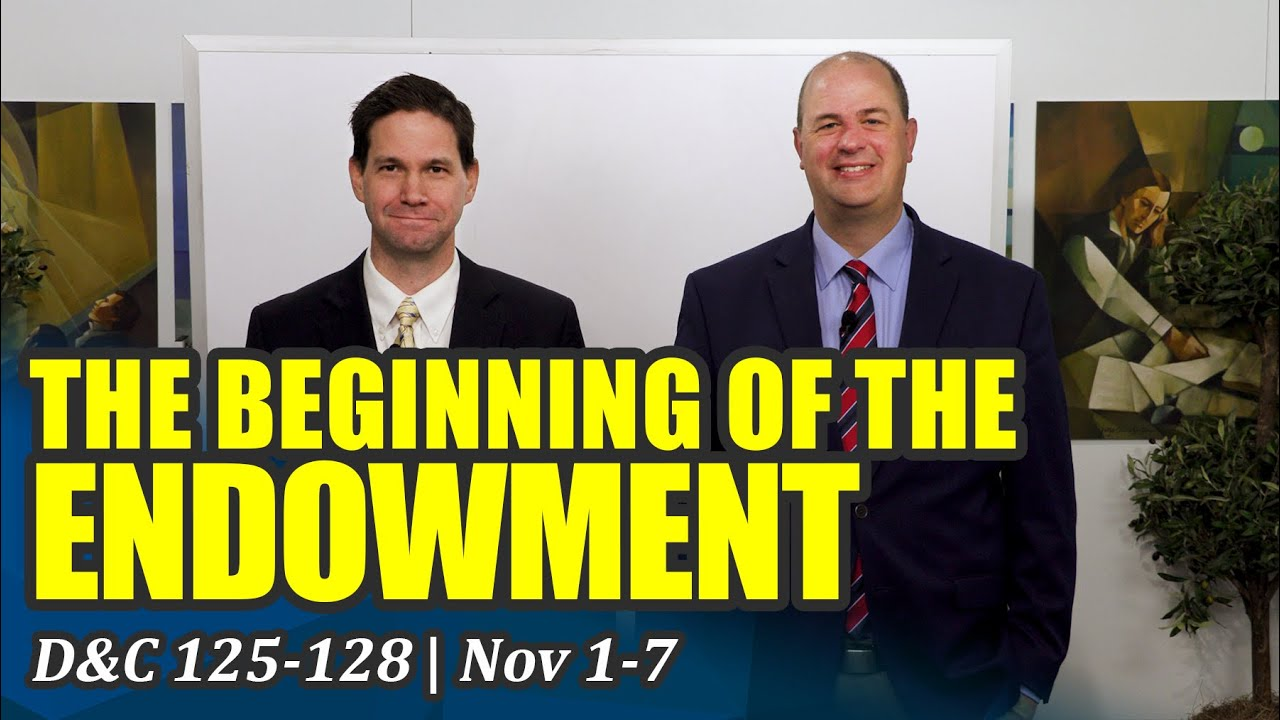 Download Come Follow Me Insights (Doctrine and Covenants 125-128, Nov 1-7)