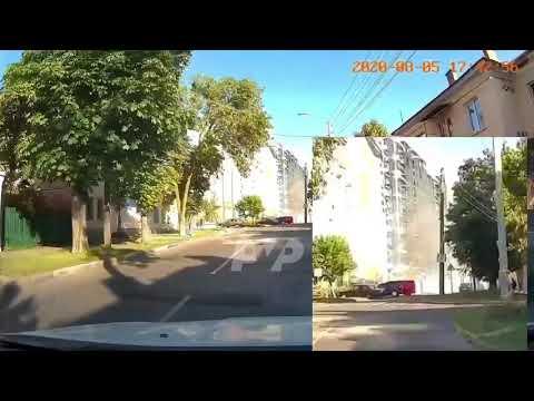 Kolo News: Обвал риштувань у центрі Полтави