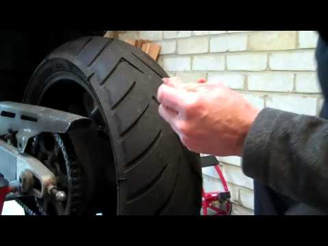 Delboy's Garage, Emergency Puncture Repair, Motorcycle Tyre  short copy