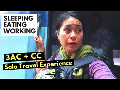 INDIAN TRAIN TRAVEL |  Inside CC & AC3 CLASS | India Travel Vlog