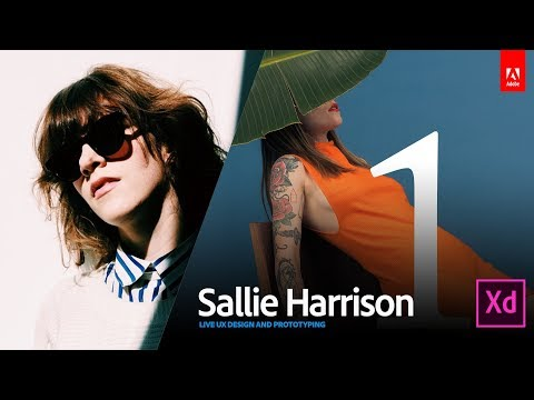 Live UX Design with art director Sallie Harrison 1/3
