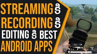 BEST APP FOR LIVE STREAMING FOR YOUTUBE: Best App For Screen Recording And Live Streaming In Telugu