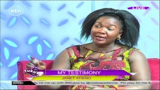 Gospel singer Janet Atieno reveals how she was raped at 15 by her uncle