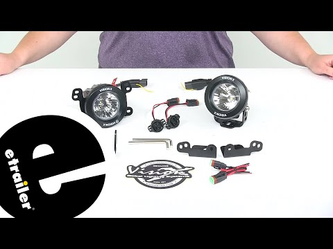 etrailer   Review of Vision X Vehicle Lights - Replacement Jeep Fog Light - XIL-OE1012JKV2OPR120