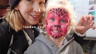 LONDON ZOO + POTTY TRAINING Q&A | Rhiannon Ashlee Vlogs