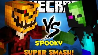 Minecraft: Spooky Scary Skeleton Super Smash Brothers