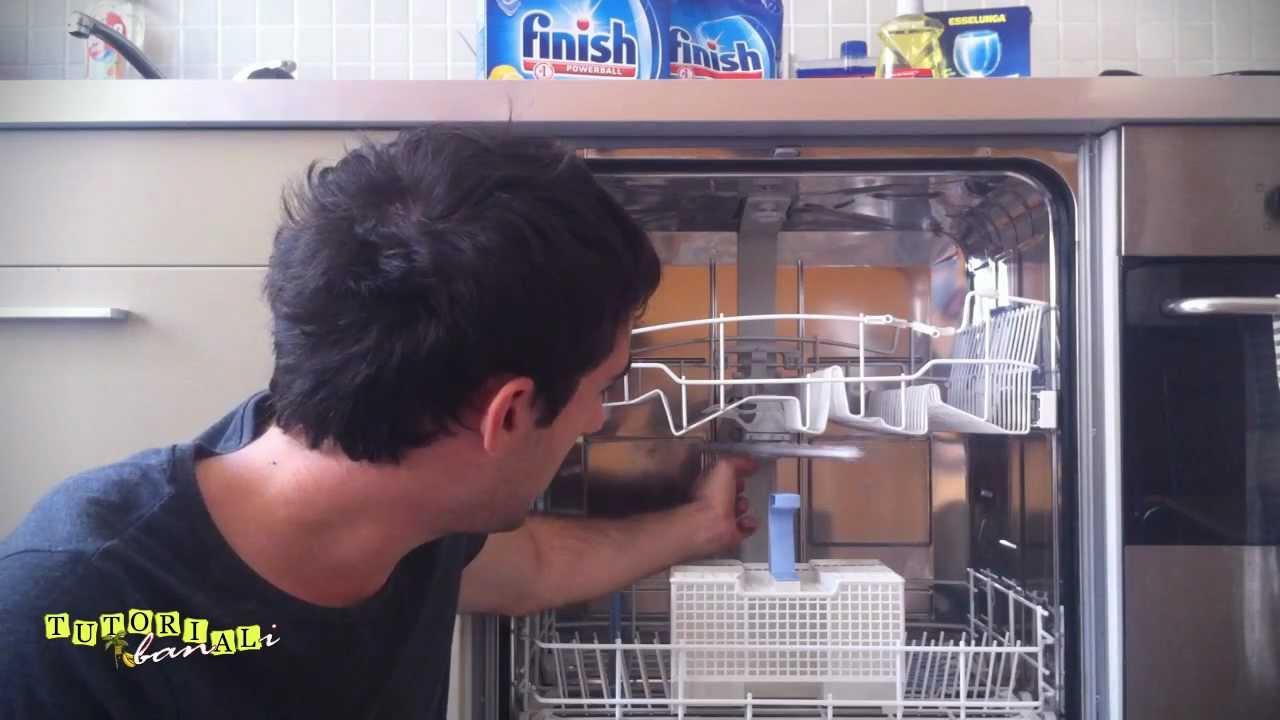 Tutorial banali lavastoviglie youtube