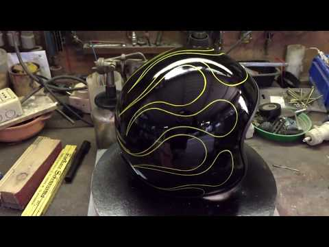 Restore old helmet [Painting & Pinstriping]