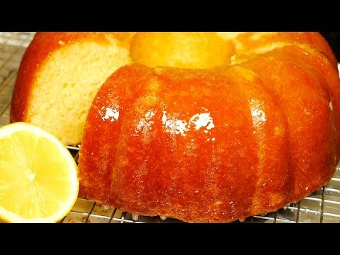 Lemon Pound Cake Recipe