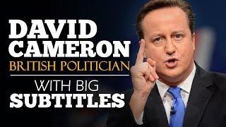 ENGLISH SPEECH   DAVID CAMERON: Brexit Referendum 2013 (English Subtitles)