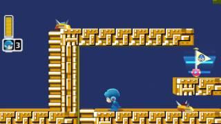 Mega Man Powered Up Custom Level 001 - Elec Dod Style