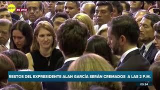 Hijos de Alan García leen la carta que les dejó