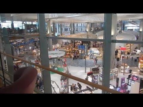 Oslo airport Gardemoen duty free shop, Norway