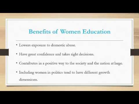 Women Education In India