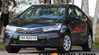 Тест драйв Toyota Corolla 2013 (Тойота Королла)