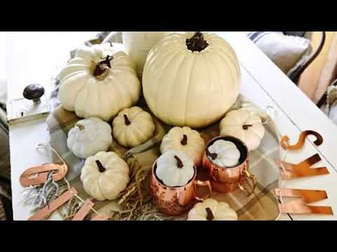 Chic Neutral Fall Decor Ideas You'll Like | Thanksgiving Decoration Ideas | Fall Home Decor