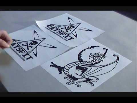 How To Screen Print: Toner Aide & Laser Vellum