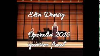 Elsa Dreisig  Operalia 2016  Ach ich Fühl39;s