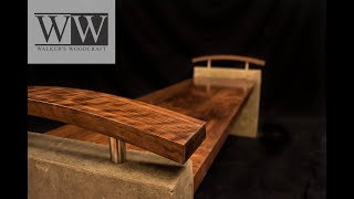 Entryway Bench Concrete mold & Bent Lamination   Woodwork Build