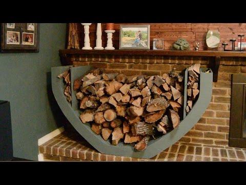 DIY Firewood Holder
