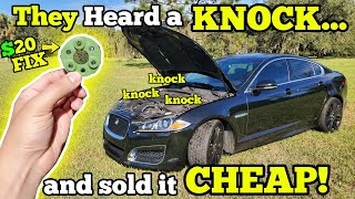 "I Bought a 500HP Jaguar with an ""Engine Knock"" at the Junk Auction. It was completely MISDIAGNOSED!"